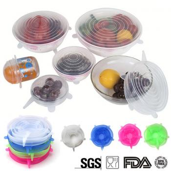 Stretchable Silicone Lid (6in1)