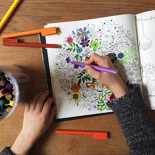 Garden Malaysia Book Colouring Online Secret GIFT Relaxing CCMall2u CREATIVE Color