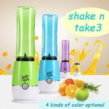 Shake n Take 3 Fruit Juice Blender *2 Bottles*