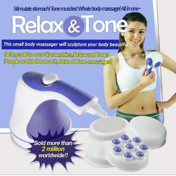 Relax & Spin Tone Massager ~ As Seen On TV