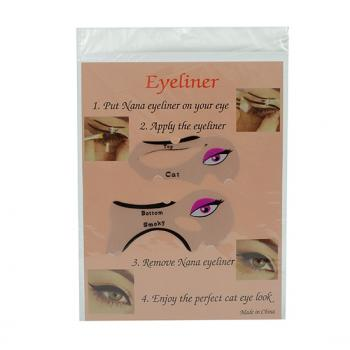Eyeliner drawing Guide / Card