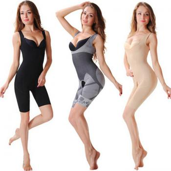 FangNaiEr Natural Bamboo Charcoal Slimming Suit