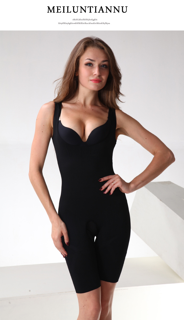 Natural Bamboo Charcoal Slimming Suit Corset - Original ...