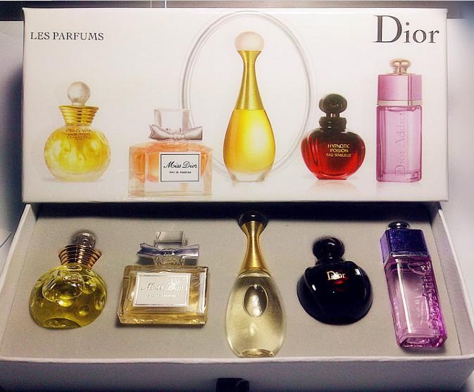 Dior 5 In 1 Miniature Perfume Set 11street Malaysia